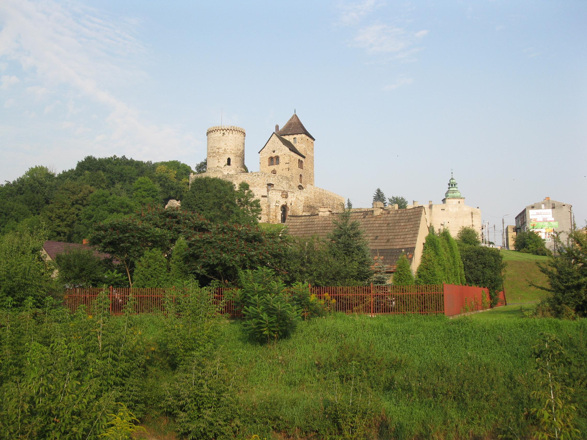 Medieval castle in Będzin