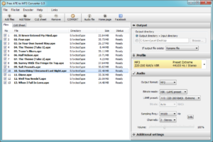 Free APE to MP3 Converter