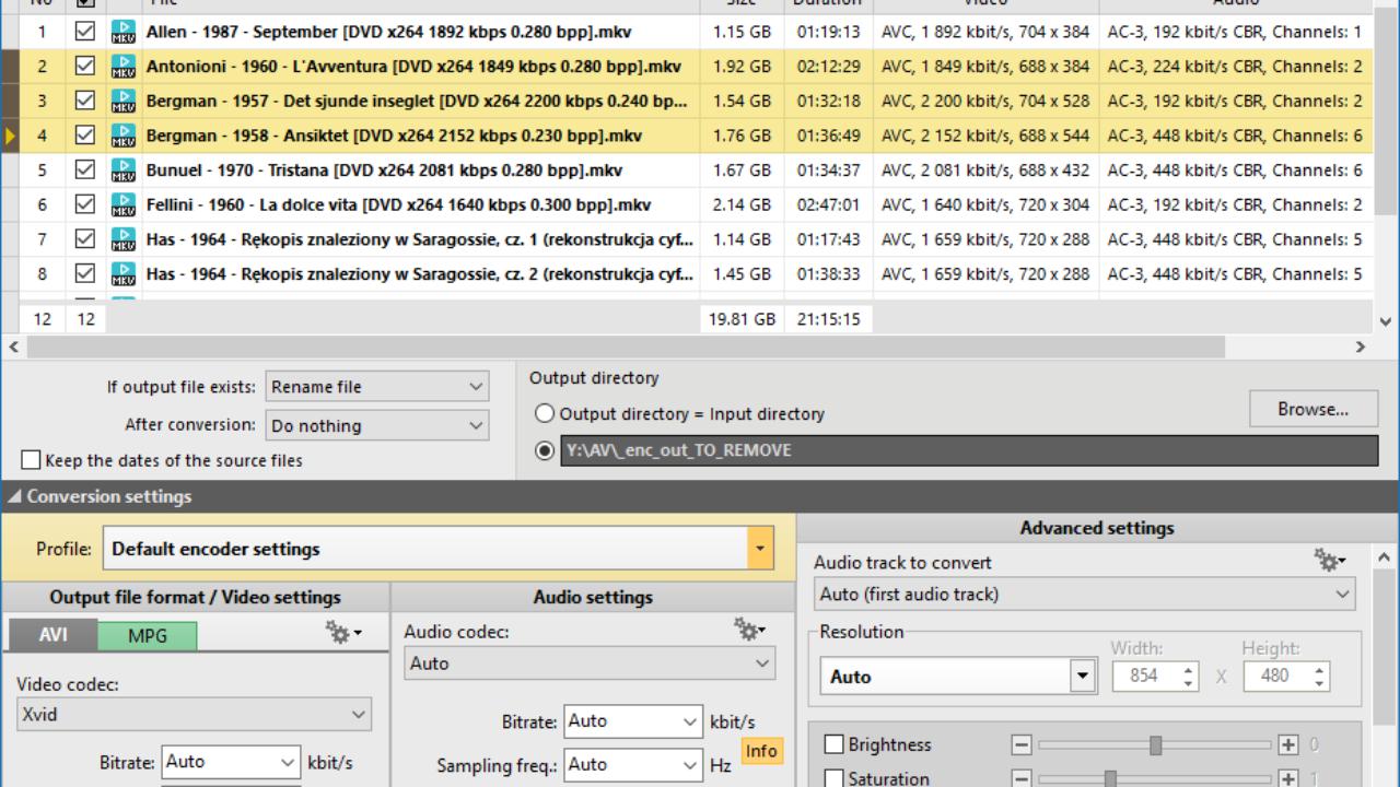 free avi to mkv converter software download